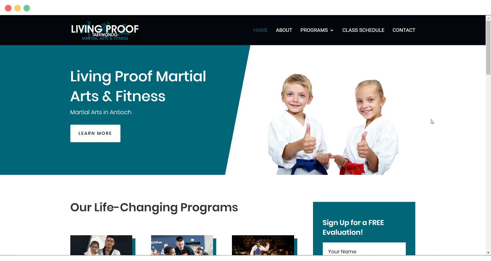 living-proof-martial-arts-website-page